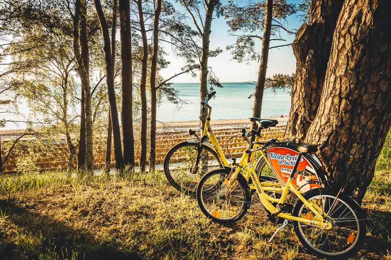 Fahrrad in Lubmin